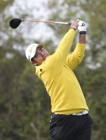松山、スコア落とし14位に後退 米男子ゴルフ第2日 画像1