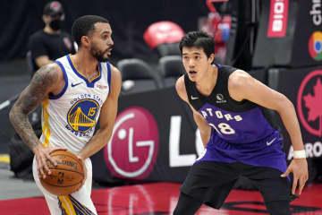 NBA、渡辺雄太は6得点 ラプターズ大勝 画像1