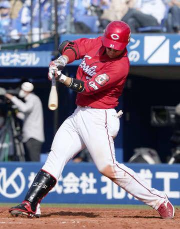 D3―7広(3日) 広島の坂倉が満塁本塁打 画像1