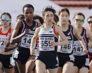 田中希実が3000メートル1位 陸上中距離の競技会 画像1
