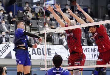 パナソニックが名古屋下し決勝へ Vリーグ男子PO 画像1