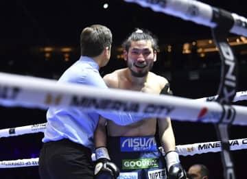 岩佐亮佑は5回TKO負け Sバンタム級王座統一に失敗 画像1
