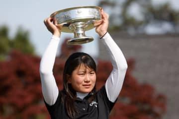 17歳の梶谷翼が初優勝 オーガスタ女子アマゴルフ 画像1