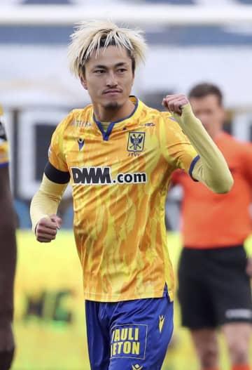 鈴木優磨が今季15ゴール目 ベルギー1部リーグ 画像1