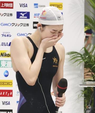池江璃花子、東京五輪代表に決定 奇跡的な復活「今すごく幸せ」 画像1