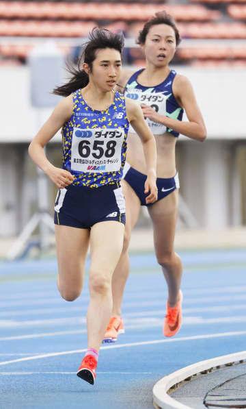 田中希実、陸上1500mで1位 中距離競技会、男子は森田佳祐 画像1