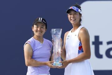 青山、柴原組が今季3勝目 テニス、男子単はフルカチュV 画像1