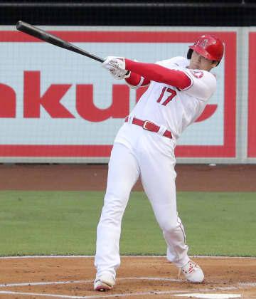 大谷、投手で4回2/3を3失点 打者では3打数1安打1打点 画像1