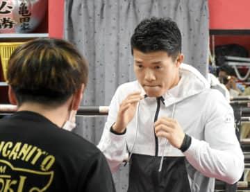 ボクシング、亀田和毅が練習公開 5月5日に大阪で復帰戦 画像1