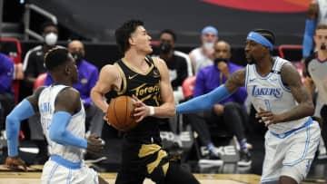 ラプターズ渡辺雄太は8得点 NBA、チーム黒星 画像1