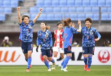 なでしこ、パラグアイに大勝 仙台で女子国際親善試合 画像1