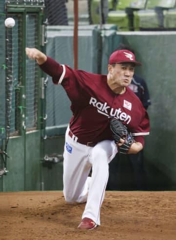 田中将、ブルペンで投球 来週中に今季初登板へ 画像1