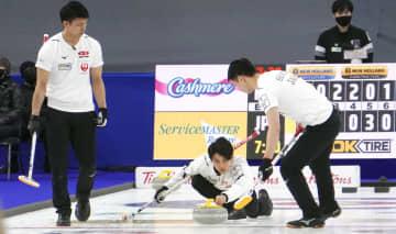 カーリング、日本は6勝6敗に 男子世界選手権1次リーグ 画像1