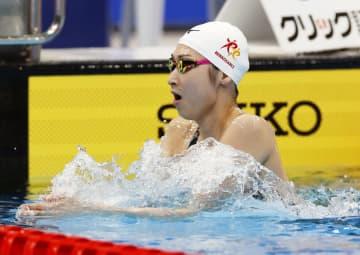 池江璃花子、予選2位で準決勝へ 50m自由形、競泳日本選手権 画像1