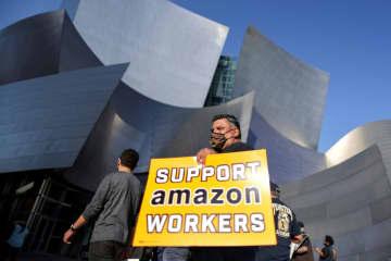 米アマゾン、労組結成を否決 倉庫従業員投票、運動に打撃 画像1