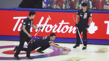 カーリング、日本6勝7敗で9位 男子世界選手権 画像1