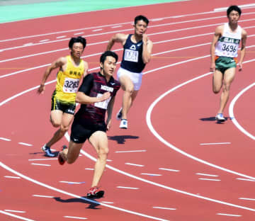 飯塚翔太、五輪200mへ好感触 今季初戦で20秒52 画像1
