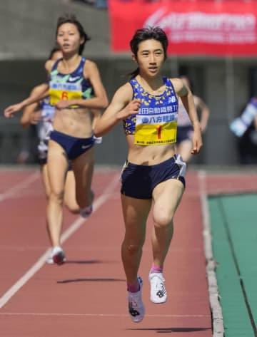 女子1500メートルは田中V 選抜中・長距離陸上 画像1