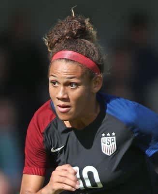 ロッドマン娘が最年少得点 サッカーの米女子プロリーグ 画像1