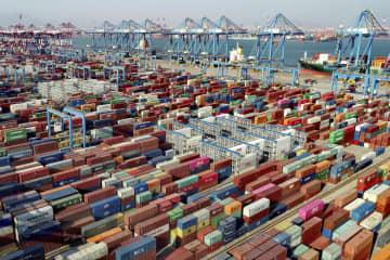 中国の1~3月輸出額、38%増 世界的な需要回復を反映 画像1