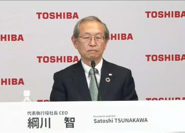東芝社長が辞任、後任に綱川氏 臨時取締役会、経営陣対立 画像1