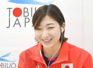 競泳の池江璃花子「自分に期待」 五輪代表、体調に異常なし 画像1