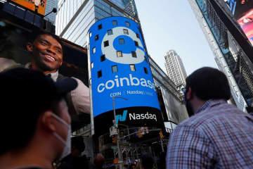米コインベース、ナスダック上場 仮想通貨の主要関連企業で初 画像1