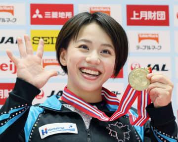 村上茉愛が2連覇、畠田瞳2位 体操の全日本選手権女子 画像1