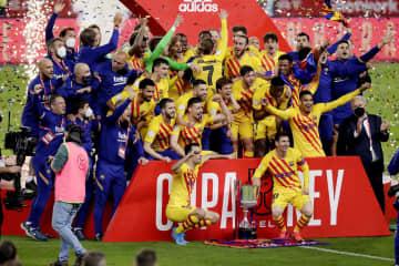 バルセロナがスペイン国王杯優勝 3年ぶり31度目 画像1