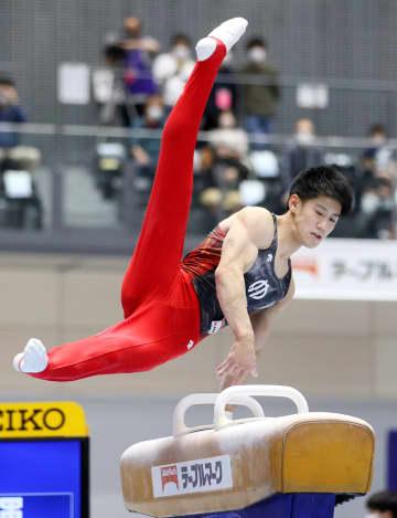 体操、19歳橋本が逆転で初優勝 谷川航2位、北園は負傷 画像1