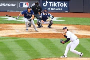 レイズ筒香は4打数1安打1打点 ヤンキース戦 画像1