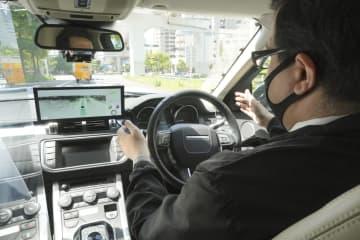最新の自動運転車が一堂に 「レベル4」市街地を走行 画像1