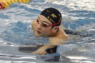 平泳ぎ代表の佐藤「目指すは金」 本番まで高地練習で強化 画像1