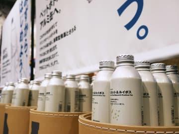無印良品、全飲料をアルミ缶に 環境意識高まり受け 画像1