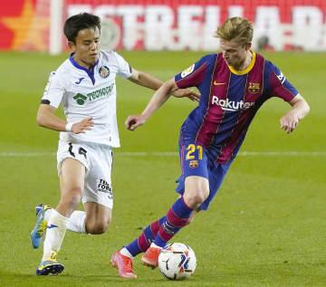 久保建英フル出場、バルサに完敗 スペイン1部リーグ 画像1