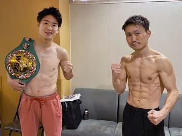寺地、久田ともに前日計量パス WBCライトフライ級 画像1