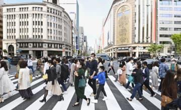 デパート駆け込み混雑、東京都内 3度目の宣言前、最後の1日 画像1