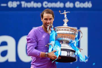 ナダルがツアー通算87勝目 テニス、バルセロナ・オープン 画像1