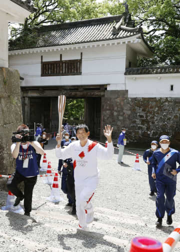 聖火リレー、宮崎県西部を巡る イベントは2日連続で中止 画像1
