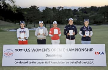 全米女子、川満ら5人が出場権 ゴルフ、日本地区最終予選 画像1