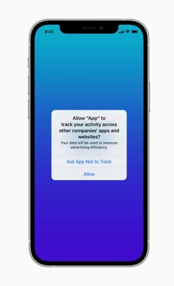 個人情報収集を問う機能追加 アップル、広告に影響 画像1