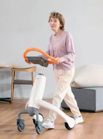 パナ、歩行訓練ロボットを開発 高齢者の自立支援 画像1