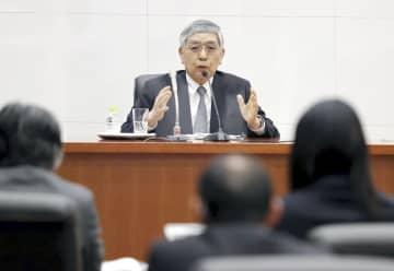 日銀総裁、変異株影響に懸念 景気下振れの恐れ「注視」 画像1