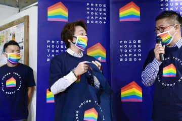 「性的少数者の理解協力は責務」 橋本会長、五輪拠点を訪問 画像1