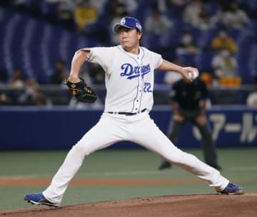 中2―1神(27日) 大野雄が今季初勝利 画像1