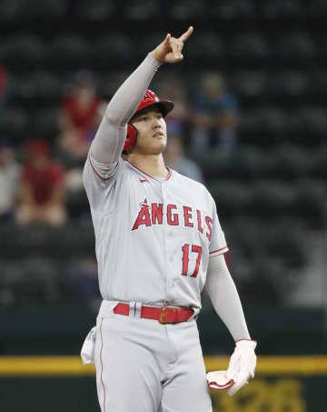 エンゼルス大谷は4打数1安打 レンジャーズ戦で二塁打 画像1