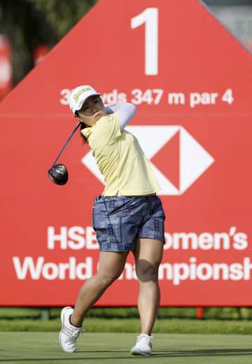 畑岡55位、渋野は66位 米女子ゴルフ、HSBC第1日 画像1