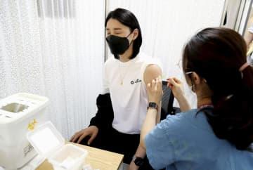 韓国の五輪選手がワクチン接種 初日は百人、ファイザー製 画像1