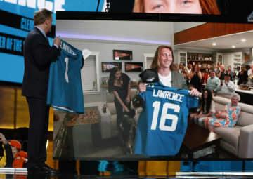 NFL全体1位はQBローレンス ドラフト会議 画像1