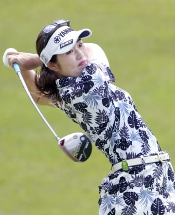 ゴルフ、植竹が66で首位発進 女子パナソニックOP 画像1